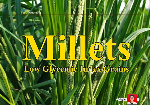 Millets - Low Glycemic Index Grains